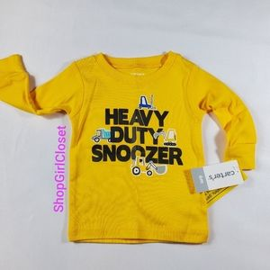 💥Just In💥 Snoozer PJ Top Carter's 6M NWT